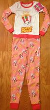 Shopkins Size 4 Pajamas Poppy Corn Girls Sleepwear Pants & Shirt