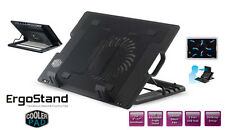 Adjustable Ergo Laptop Stand with 14cm Fan with USB HUB