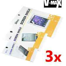 3x Vmax Ultra Clear Screen Protector Samsung Galaxy SII Plus I9105P I9100 I9108