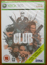 The Club, Promotional Promo Copy, Bizarre Creations SEGA Xbox 360 PAL NEW SEALED