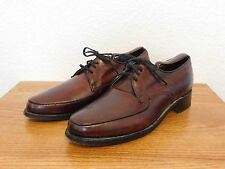 Vintage Hanover Oxford Leather Shoes Made in the USA Size 9.5 US Cordovan