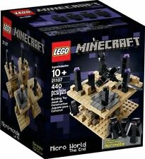 21107 MICRO WORLD THE END minecraft lego legos set NEW Ender Dragon Micromob