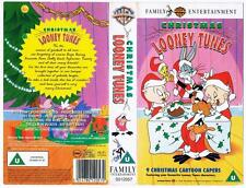 CHRISTMAS LOONEY TUNES  *RARE VHS TAPE*   1996,