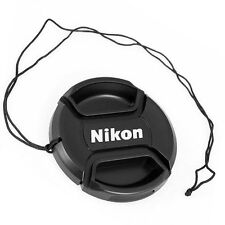 NIKON  LC-49  front camera  lens cap for 49mm filter thread - Snap-clips