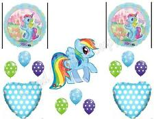 MY LITTLE PONY ICE CREAM Birthday Party Balloons Decoration Supplies Dash