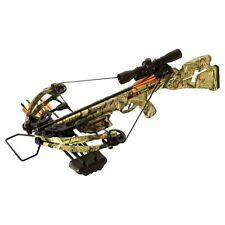 2023A PSE Archery Fang Crossbow Package, Mossy Oak Infinity Camo, 345FPS SCUFFED