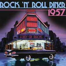 ROCK 'N' ROLL DINER 1957 - CHUCK BERRY BUDDY HOLLY BILL HALEY - 2 CDS - NEW!!