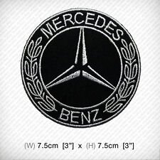 New MERCEDES BENZ logo Embroidered Patch Iron on or sew Racing SPORTS Top Class