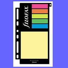 Filofax Insert Mulitfit Assorted Sticky Notes Large Personal Refill 130136