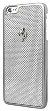 Ferrari GT Carbon Hard Case for iPhone 6 4.7 - Silver Frame