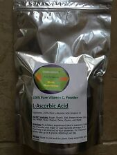 1000g (2.2 lb)100% PURE Ascorbic Acid Vitamin C Powder USP NonGMO non-irradiated