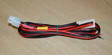 Yaesu/Kenwood/Icom/Alinco 6-pin power lead with fuses and marker