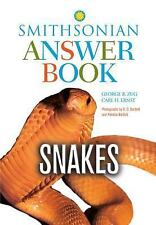 Snakes in Question: The Smithsonian Answer Book, Second Edition, Carl H. Ernst,