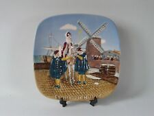 Royal Doulton Christmas in Holland plate collectors international.