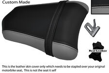 GREY & BLACK CUSTOM FITS DUCATI 749 999 REAR PILLION PASSENGER SEAT COVER