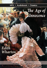 The Age of Innocence - Unabridged MP3 CD Audiobook in DVD case