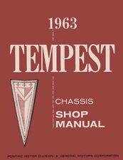 1963 Pontiac Tempest Shop Service Repair Manual Engine Drivetrain Electrical