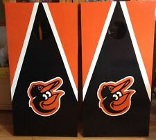 Baltimore Orioles Custom Made Cornhole boards and Free Bags