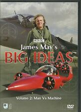 JAMES MAY'S BIG IDEAS DVD - VOLUME 2; MAN vs MACHINE