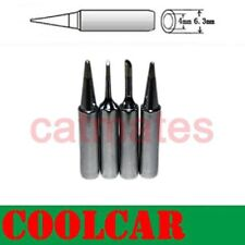 4 PCs TIPs SOLDER SOLDERING IRON Rework Station 900M-T Lead Free For Atten Hakko