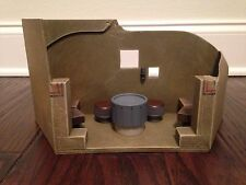 Star Wars Custom Diorama Mos Eisley Cantina Bar Corner Booth Table Tatooine Band