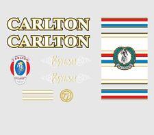 Carlton Corsa Bicicletta Decalcomanie, trasferimenti, ADESIVI N. 4