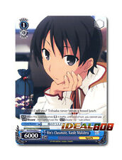 Weiss Schwarz  x 4 Rin's Classmate, Kaede Makidera [FS/S34-E092 C] English Commo