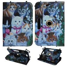 For Universal 6 inch Tablet Multi Cat Case Cover Uni Pu Leather