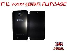 ORIGINAL LEATHER FLIPCASE FOR THL W200S MTK6592W OCTACORE DUALSIM SMARTPHONE UK