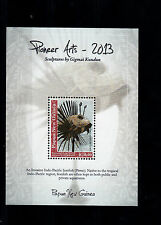 Papua New Guinea 2013 MNH Pioneer Arts Sculptures by Gigmai Kundun 1v S/S Art