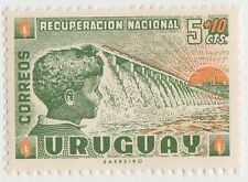 (UG-344) 1959 Uruguay 5c +10c national recovery (A)