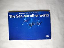 Brooke Bond tea cards Album - The sea - Our other World