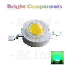 10 x 3W Green Power LED - Ultra Bright - 10 Pack - 1st CLASS POST