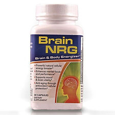 Brain NRG with NADH by Carepoint Health - Brain and Body Energizer(30 Capsules)
