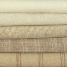 ~ WARM VANILLA ~ Wool for Rug Hooking, Applique, Penny Rugs, Quilting