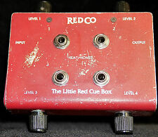 Redco Little Red Cue Box Studio Headphone 4 Outputs