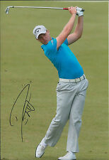 Danny WILLETT SIGNED Autograph 12x8 Photo AFTAL COA Sheffield Golfer Genuine