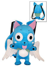 Fairy Tail 15'' Happy Plush Bag Back Pack Anime Manga NEW