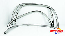 For: DODGE RAM 1500; FTDO205 FENDER TRIM Stainless Steel Flares 1994-2001