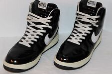 2002 NIKE AIR FORCE 1 SHEED HI RASHEED WALLACE PATENT BLACK 15 US 302640-011 VGC