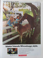 3/1973 PUB WINNEBAGO BRAVE CAMPING CAR MOTOR HOME ORIGINAL AD