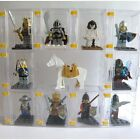 MINIFIGURE COLLECTOR'S DISPLAY BOX CASE 10PCS with a FLIP DOOR and EXPANDABLE