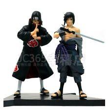 Anime Naruto Shippuden Uchiha Itachi Uchiha Sasuke Toy Figure Figurine Doll New