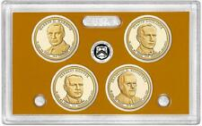 2014-S  PROOF PRESIDENTIAL DOLLAR SET  ( 4 coins in plastic case )