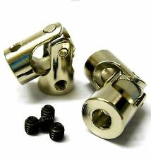 N10204 Uni Universal Joint Cup Silver Alloy 9mm Outer 4mm Inner Diameter