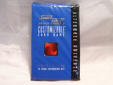 STAR TREK CCG ALTERNATE UNIVERSE SEALED BOOSTER PACK OF 15 CARDS