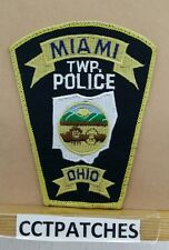 MIAMI TOWNSHIP, OHIO POLICE SHOULDER PATCH OH