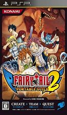 Used PSP Fairy Tail: Portable Guild 2  Japan Import ((Free shipping))