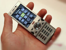 Sony Ericsson W995 Silver Unlocked Wi-Fi Cell phone free shipping