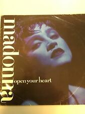 "MADONNA-OPE YOUR HEART MAXI SINGLE 12""  VINILO 1986 SPAIN VERY GOOD CONDITION"